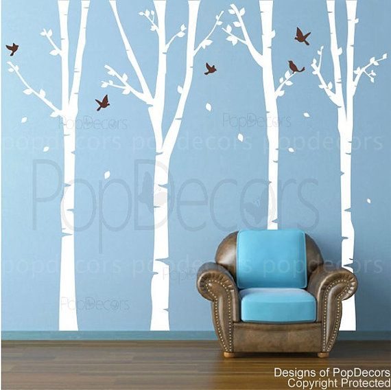 another decal I like: Offices Wall Decals, Vinyls Wall Decals, Baby, Wall Stickers, Super Birches, Trees Wall Decals, Wall Decals Stickers, Art Wall, Kids Rooms