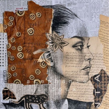 Great collage art by Stephanie Ledoux.