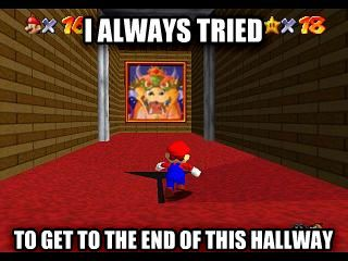 My Super Mario 64 Confession via reddit user RileyRichard