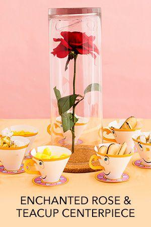 Disney Tea: Enchanted Rose & Teacup Centerpiece