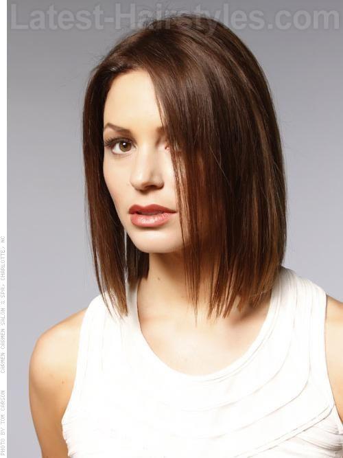 10 Stylish Medium Length Bob Hairstyles | Latest-Hairstyles.com