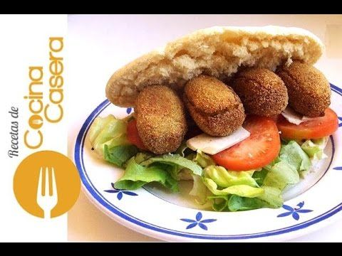 Falafel con garbanzos. Recetas árabes - Recetas de Cocina Casera - Recetas fáciles y sencillas