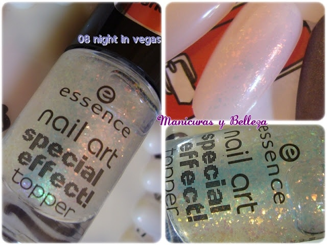 Nail art Special Effect! Topper by Essence; 08 night in vegas!