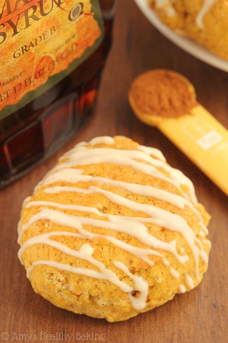 Maple Pumpkin Scones -- the softest you'll ever eat! They taste like pumpkin pie for breakfast!