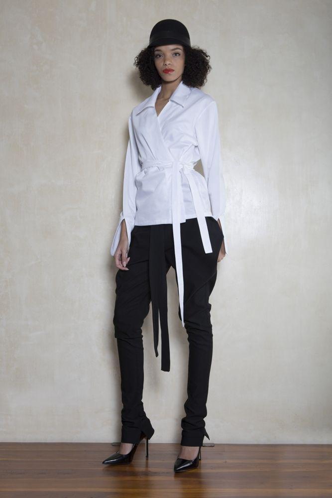 Aimmea | Moody fashion  #Highwaistwrappants #Skinnylegwrappants