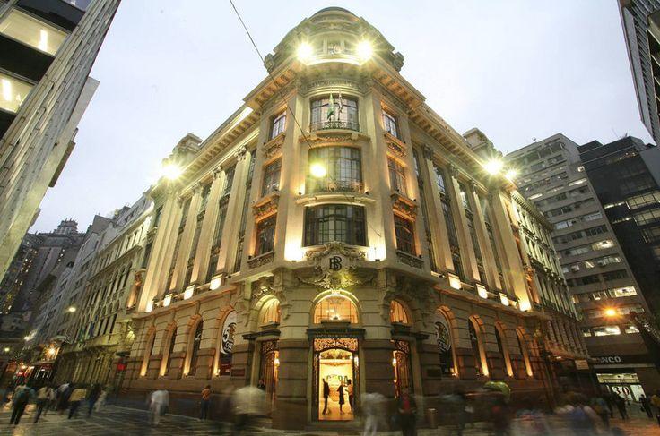 XV de Novembro street, Sao Paulo downtown, Centro Cultural Banco do Brasil