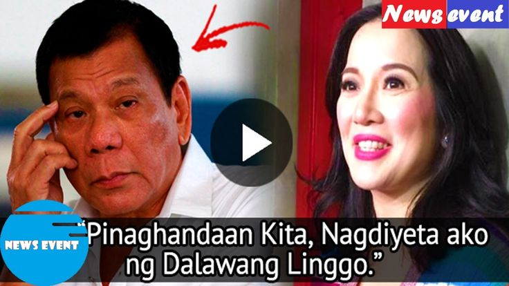 Kris Aquino Said To Dutert 'I Hope One Day Mamahalin Mo Rin Ako news event
