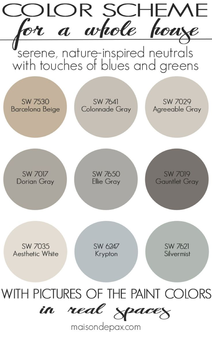 top 25 best warm color schemes ideas on pinterest warm colors a color scheme for a whole house see paint colors in real spaces in this home tour full of lovely nature inspired neutrals with touches of blues and