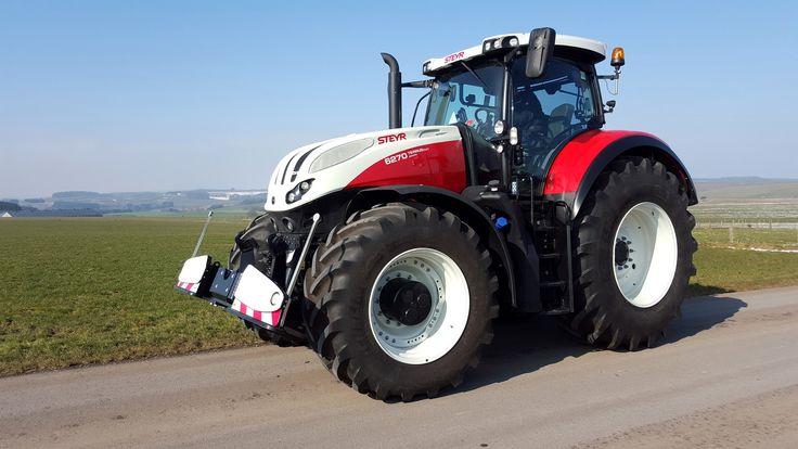 Steyr 6270 terrus cvt tractor mania pinterest steyr - Schorsing stijl atelier ...