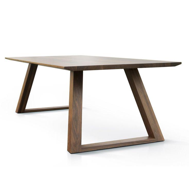 Tavolo Ombre di Qucina - in legno di noce massello