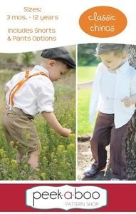 The Classic Chinos are a wardrobe staple for any boy or girl. Dress them up or dress them down