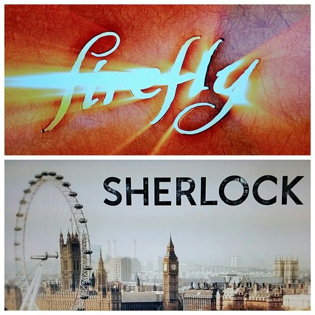 #The30DaysofChannelSurfing Day 21: Show you can rewatch - Another Tie #Firefly & #Sherlock