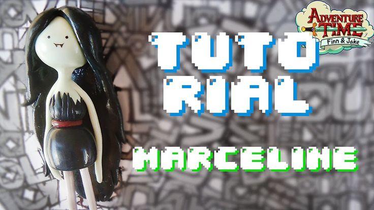MARCELINE Adventure Time Polymer Clay TUTORIAL //Hora de Aventura  Porce...