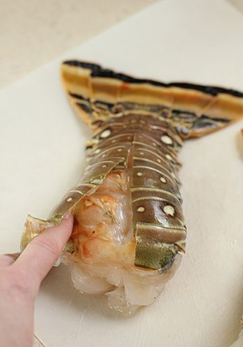 Steam-Baked Lobster Tails. I have still never tried doing my own lobster. After reading this DIY and recipe I think that the only thing to fear is fear itself!! Let's DO IT!