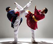 맨즈헬스_ 외유내강 피트니스, 동양무예 4탄 택견 상생공영을 꿈꾸다 Taekkyeon is the traditional military Korean martial art from the Joseon Dynasty. Taekkyeon is also frequently romanized informally as Taekgyeon, Taekkyon, or Taekyun.