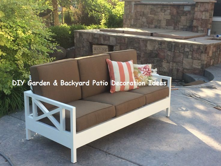 13 Awesome And Cheap Patio Furniture Ideas 2 Outdoor Sofa Diy