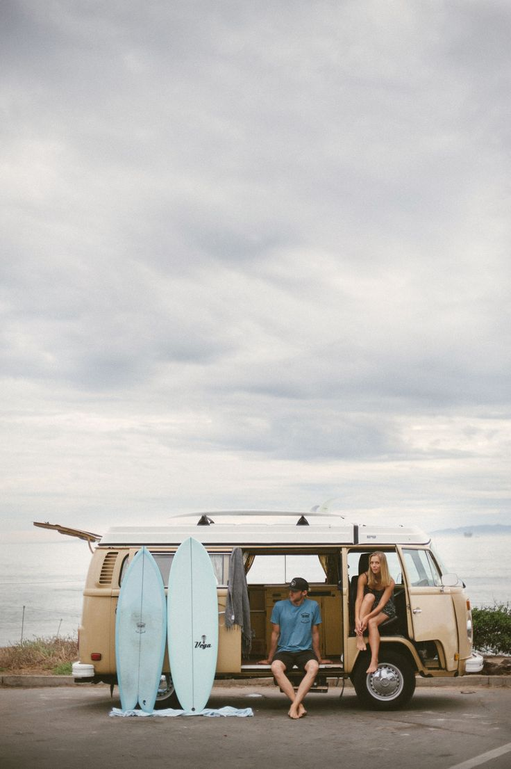 Road trip up the Pacific Coast Highway in a VW bus!