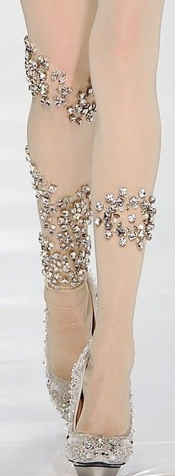 accessories in details ♥✤ - Careful crossing your legs....lucky for me, I can't!!