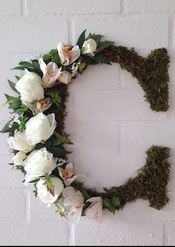 Best 25 Flower Letters Ideas On Pinterest Letter