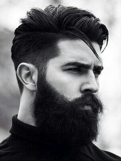 If you do it, do it right.  This man has perfected this look.  Omg the earth just stood still. Luv it!!!!