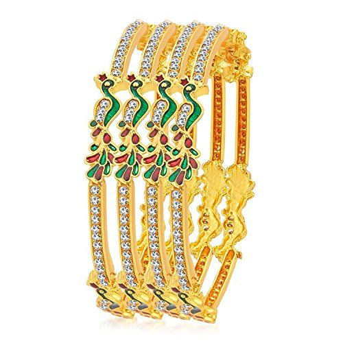 Red & Green Peacock Style Indian Bollywood Gold Plated Cz... https://www.amazon.com/dp/B01MUQ6S55/ref=cm_sw_r_pi_dp_x_coRNyb81PDB2S