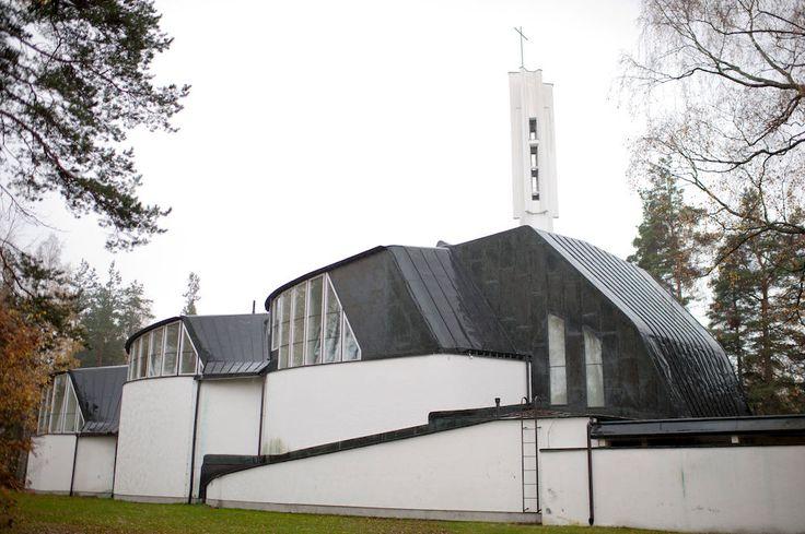 Alvar Aalto, chiesa delle tre croci, 1956 Imatra - Finlandia