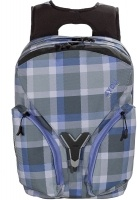 4You Igrec Schulrucksack Igrec S Checker Grey Violet
