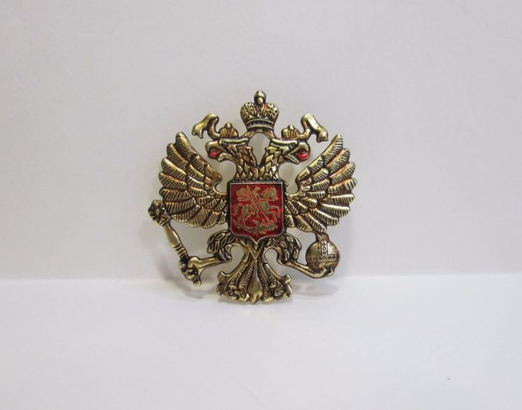 Russian Imperial double-headed eagle Icon 50 x 50 mm
