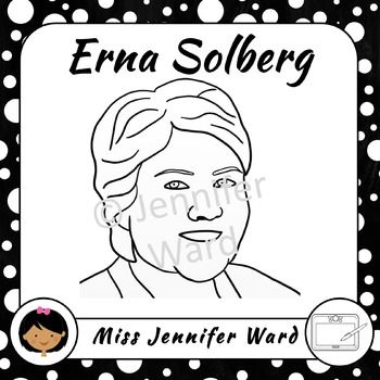 Erna Solberg clipart / clip art. She is the current Prime Minister of Norway and a very interesting lady! This clipart is a perfect complement to your biography worksheet or information book about Erna or even Norway in general...