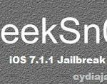 iOS 7.1.1 running iPhone 4 - Semi Untethered Jailbreak with Geeksn0w 2.9