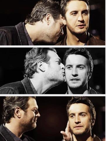 Blake Shelton and Luke Bryan :)