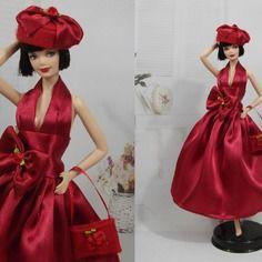 """Robe """" n°69 """" vêtement pour poupée barbie"""