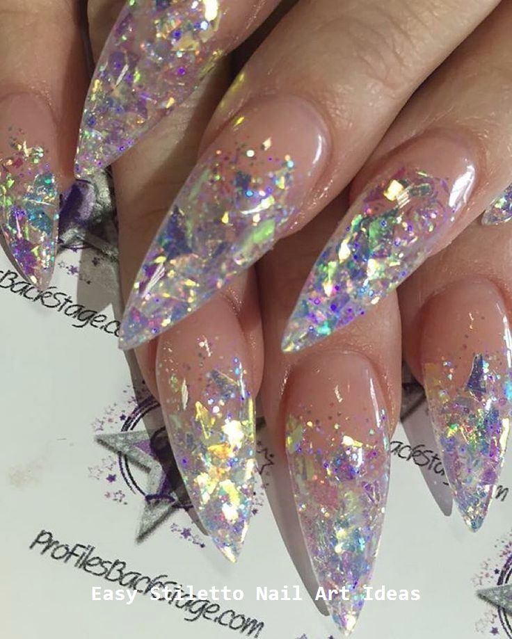 30 Great Stiletto Nail Art Design Ideas #stilettonails #nail – Long Stiletto Nails