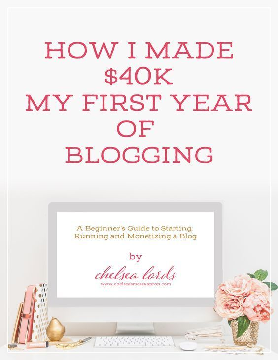 Learn how Chelsea Lords made $40k in her first year of blogging. a beginners guide to starting, running and monetising a blog – Val Evans