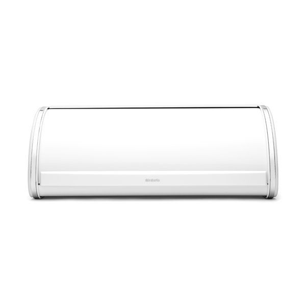 Keep your bread items fresh with the Brabantia Roll Top Bread Bin. The bread bin is made using high-quality metal. Its sturdy construction affords it resistance to corrosion and this lets you use it for many years. It is available various finishes, which allow you to choose the one that suits your kitchen. The base of the bread bin has a knobby pattern that provides it better ventilation. This Roll Top Bread Bin from Brabantia features a sturdy handle, which makes it easy to hold and carry…