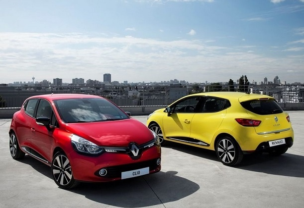 2013 Renault Clio 4 - Two Colors