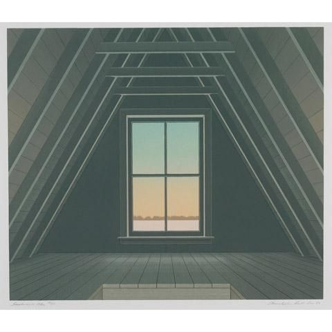 Christopher Pratt, SACKVILLE ATTIC
