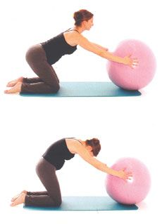 Top 10 prenatal pilates exercises seated or with fitness ball
