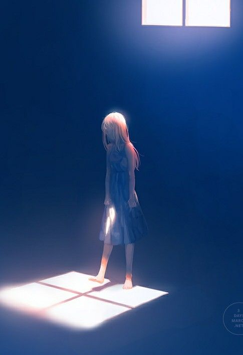 Imagen de girl, anime, and alone