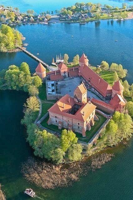 Trakai Island Castle Lithuania Gorgeous Wedding Venue Ideas