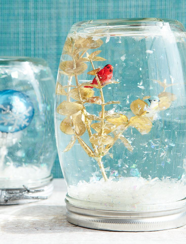 125 best diy holiday ideas images on pinterest holiday ideas need a diy gift idea how about diy snow globes solutioingenieria Images