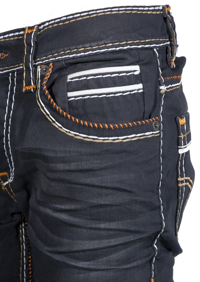 Pascucci Denim jeans zwart