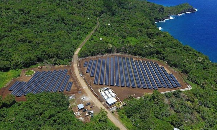 Fast on the heels of the completion of Tesla's $2.6 billion merger with SolarCity comes the news that the companies are powering an entire island with nearly 100 percent solar energy, thanks to a renewable energy microgrid. The remote island of Ta'u in American Samoa is over 4,000 miles from the West Coast,