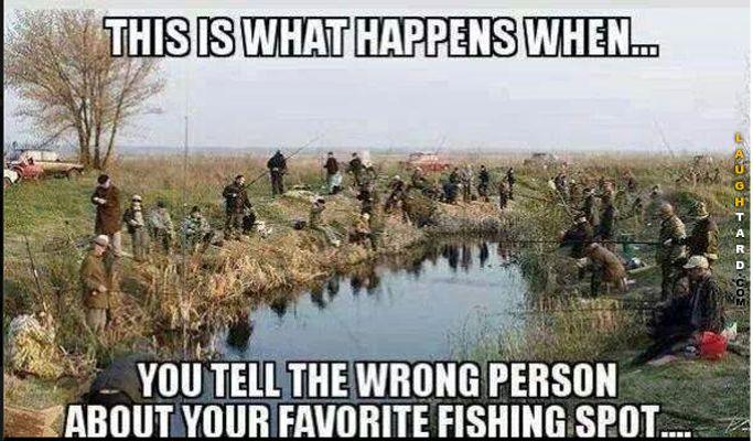 Favorite fishing spot