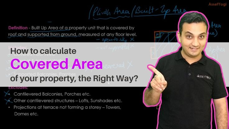 Covered Area - Calculation, Formula & Concept     Do you know how covered area differs from carpet area, built up area, plinth area and super built-up area? Watch the complete video to know more about the covered area.   #RealEstate #CoveredArea #AssetYogi