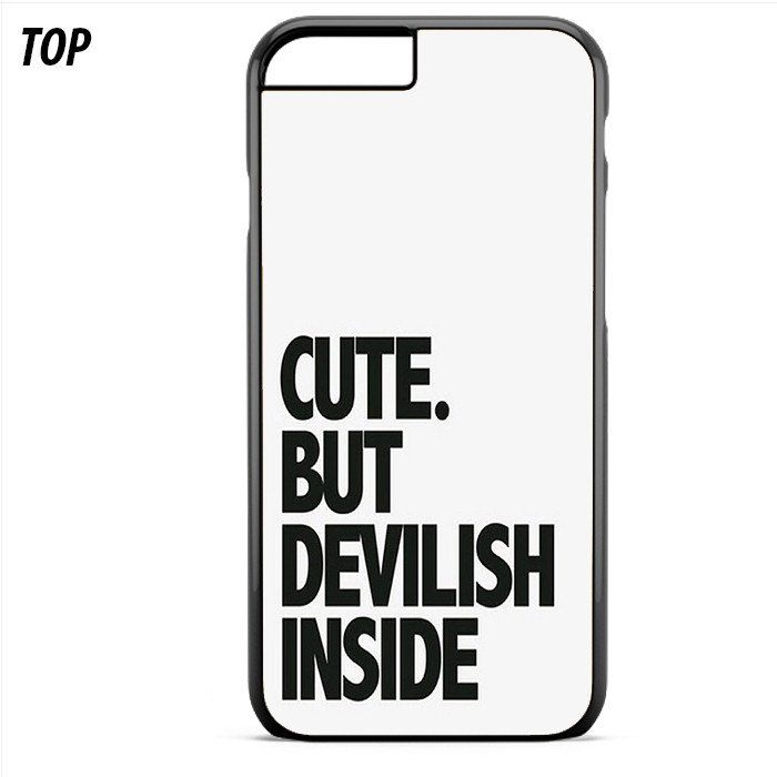 Cute But Devilish Inside For Iphone 6 | 6S Plus Case