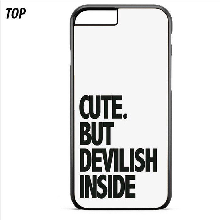 Cute But Devilish Inside For Iphone 6 | 6S Plus Case