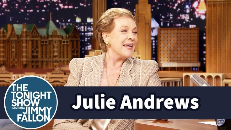 Julie Andrews Loves Playing an Awful Mom in Despicable Me 3 - YouTube