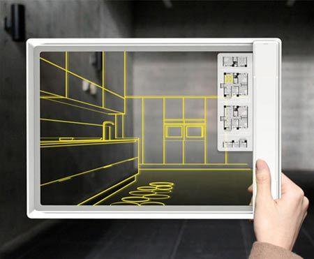Iris Tablet, il tablet del futuro per la progettazione di interni 3D