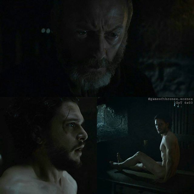 Please check out @cage_tagaryen  @cage_tagaryen @cage_tagaryen and leave a follow  --- Btw.: I hope you don't mind that there's a lot of Jon Snow coming in the next few days... I just loved Kit's acting in the scenes after his resurrection. --- Ser Davos headed back to Jon and he didn't trust his eyes. Jon Snow was alive. Confused and not in his best physical condition, but alive. --- #jonsnow #kitharington #serdavos #davosseaworth #liamcunningham #gameofthrones